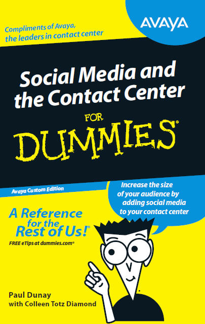 Social Media and the Contact Center for Dummies (Wiley)