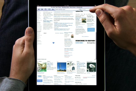 iPad saves the Page Advertising Business